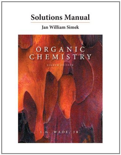 Solutions Manual for Organic Chemistry