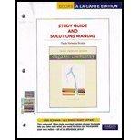 Organic Chemistry Study Guide and Solutions Manual, Books a la Carte Edition (6th Edition)