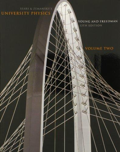 University Physics Volume 2 (Chs. 21-37) with MasteringPhysics Package (13th Edition)