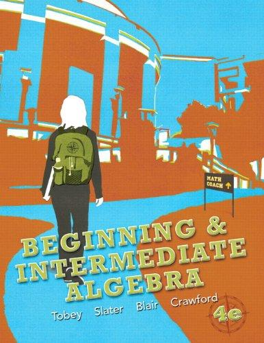 Beginning & Intermediate Algebra (4th Edition)