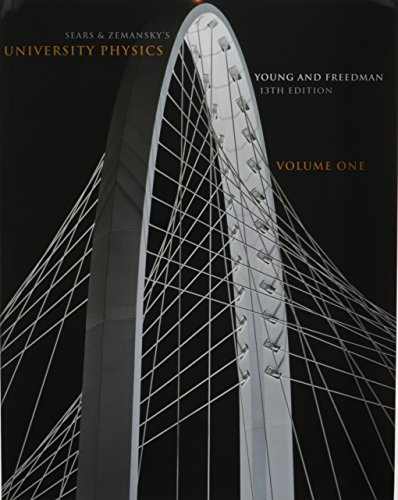 University Physics Volume 1 (Chs. 1-20) and MasteringPhysics with Pearson eText Student Access Code Card Package (13th Edition)