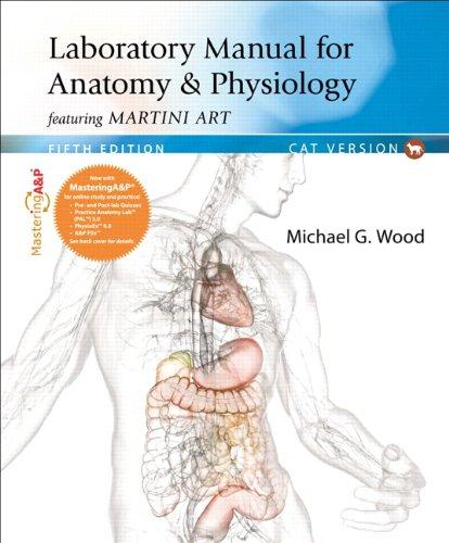 Laboratory Manual for Anatomy & Physiology featuring Martini Art, Cat Version (5th Edition)
