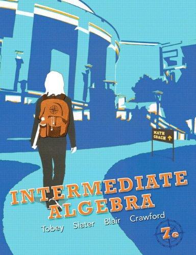 Intermediate Algebra plus NEW MyMathLab with Pearson eText -- Access Card Package (7th Edition)