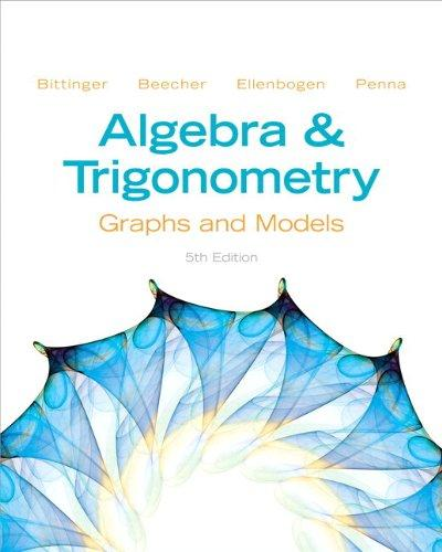Algebra and Trigonometry: Graphs and Models Plus NEW MyMathLab -- Access Card Package (5th Edition)