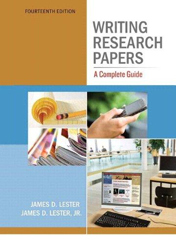 Writing Research Papers: A Complete Guide (spiral) with NEW MyCompLab with eText -- Access Card Package (14th Edition)
