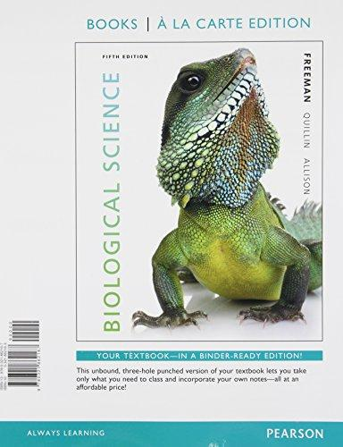Biological Science, Books a la Carte Edition (5th Edition)