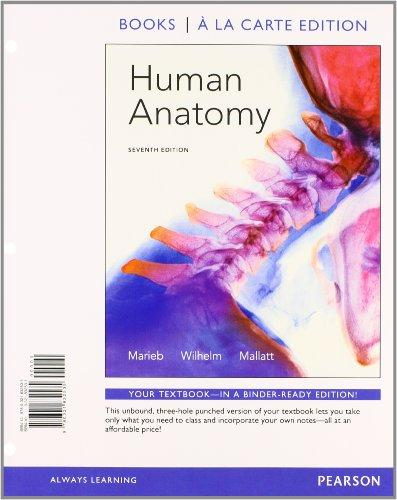Human Anatomy, Books a la Carte Plus MasteringA&P with eText -- Access Card Package (7th Edition)