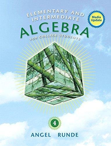 Elementary & Intermediate Alg for College Students Media Update Plus NEW MyMathLab with eText -Access Card Package (4th Edition)