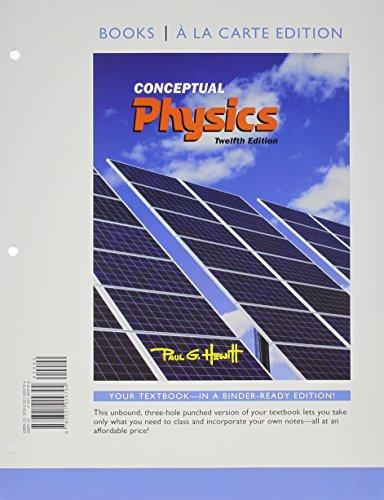 Conceptual Physics, Books a la Carte Plus MasteringPhysics with eText -- Access Card Package (12th Edition)