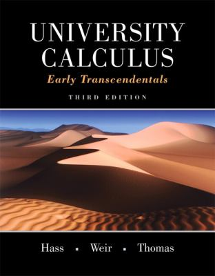University Calculus : Early Transcendentals