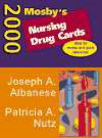 Mosby's 2000 Nursing Drug Cards