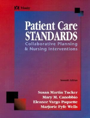 Patient Care Standards Collaborative Planning & Nursing Interventions