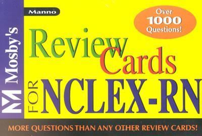 Mosby's Review Cards for Nclex-Rn