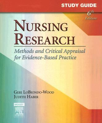 Nursing Research Methods And Critical Appraisal for Evidence-based Practice