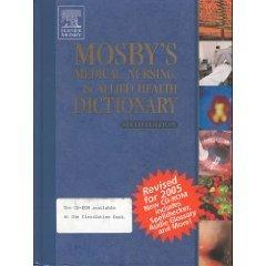 Mosby's Medical, Nursing, & Allied Health Dictionary - Revised Reprint