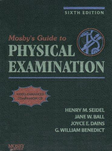 Health Assessment Online for Mosby's Guide to Physical Examination (User Guide, Access Code, and Textbook Package)
