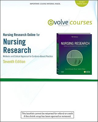 Nursing Research Online for Nursing Research (User's Guide and Access Code) : Methods and Critical Appraisal for Evidence-Based Practice
