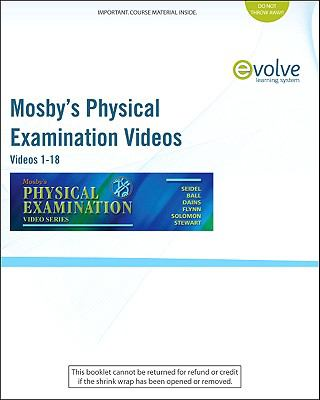 Mosby's Physical Examination Video Series (User Guide and Access Code) : Online Version, Videos 1-18