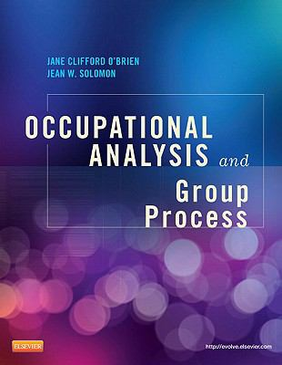 Occupational Analysis and Group Process, 1e
