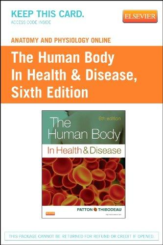 Anatomy and Physiology Online for The Human Body in Health & Disease (Access Code), 6e