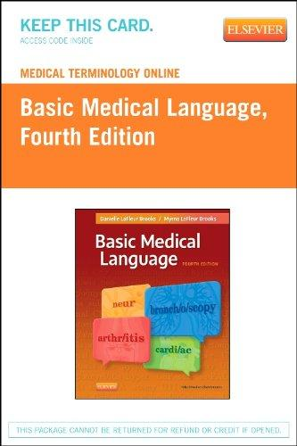 Medical Terminology Online for Basic Medical Language (Access Code), 4e