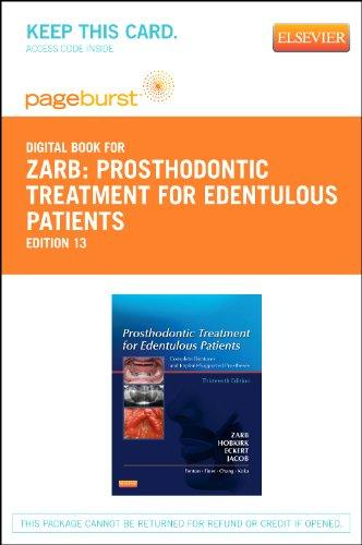 Prosthodontic Treatment for Edentulous Patients - Pageburst E-Book on VitalSource (Retail Access Card): Complete Dentures and Implant-Supported Prostheses, 13e (Pageburst Digital Book)