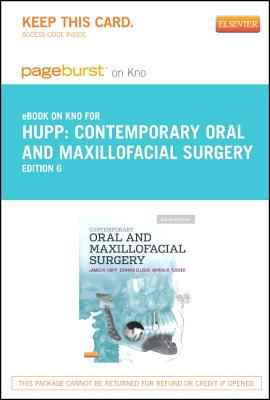 Contemporary Oral and Maxillofacial Surgery - Pageburst e-Book on Kno (Retail Access Card)