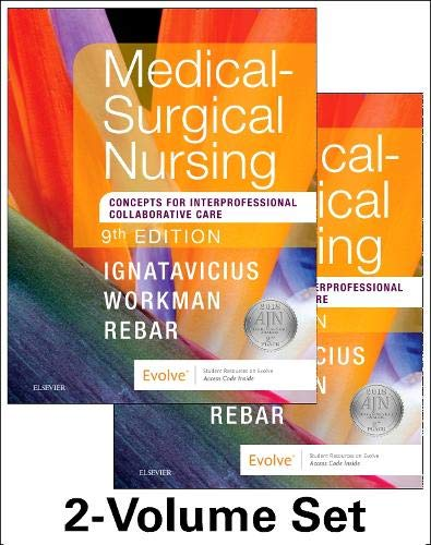 Medical-Surgical Nursing: Concepts for Interprofessional Collaborative Care, 2-Volume Set