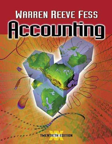 Accounting (Accounting / Carl S. Warren)