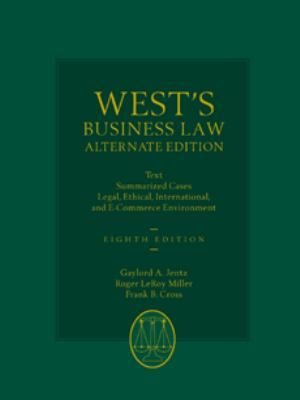 West's Business Law, Alternate Edition