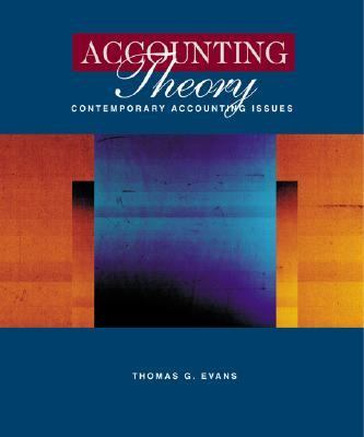 Accounting Theory Contemporary Accounting Issues