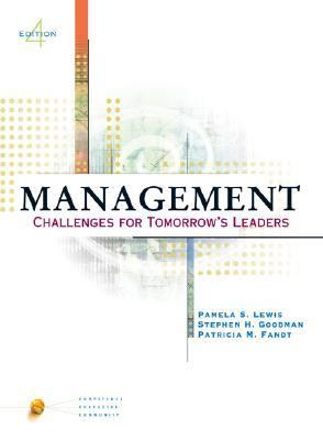 Management With Infotrac Challenges for Tomorrow's Leaders With Infotrac College Edition
