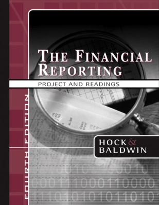 Financial Reporting Project And Readings