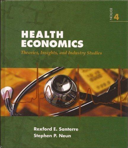 Health Economics Theories, Insights, and Industry Studies