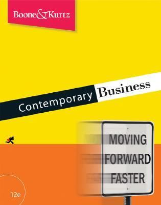 Contemporary Business  - Boone, Louis E., Kurtz, David L. pdf epub