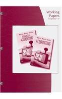Working Papers, Chapters 1-17 for Warren/Reeve/Duchac's Accounting, 23rd and Financial Accounting, 11th