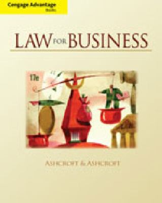 Study Guide with Workbook for Ashcroft/Ashcroft's Law for Business