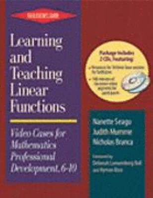 Learning and Teaching Linear Functions Participant's Resource