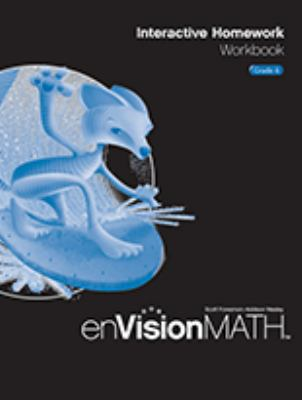enVisionMATH Enhancement Package: Interactive Homework Workbook, Grade 6 (NATL)