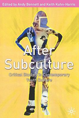 After Subculture Critical Studies in Contemporary Youth Culture