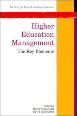 Higher Education Management The Key Elements