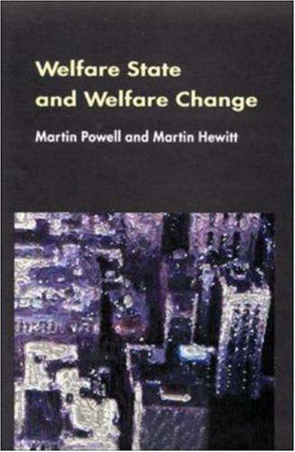 Welfare State and Welfare Change