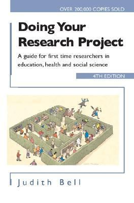 Doing Your Research Project A Guide For First-Time Researchers In Education, Health, And Social Science