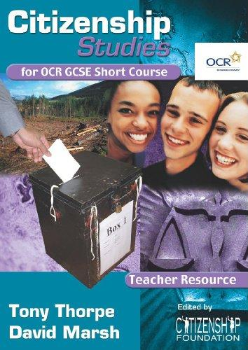 Citizenship Studies for Ocr Gcse Short Course: Teacher's Resource Book