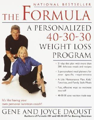 Formula A Personalized 40-30-30 Weight Loss Program