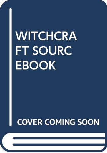 Witchcraft Sourcebook 2Nd Edition