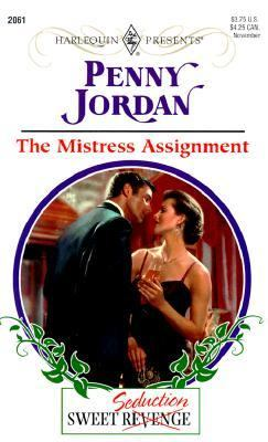 Mistress Assignment: Society Weddings - David P. Jordan - Mass Market Paperback