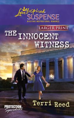 The Innocent Witness (Love Inspired Suspense (Large Print))