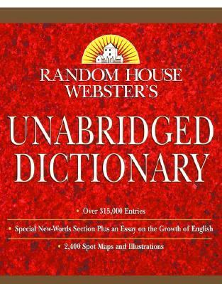 Random House Webster's Unabridged Dictionary Indexed