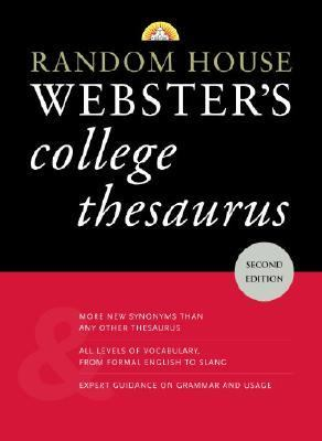 Random House Webster's College Thesaurus